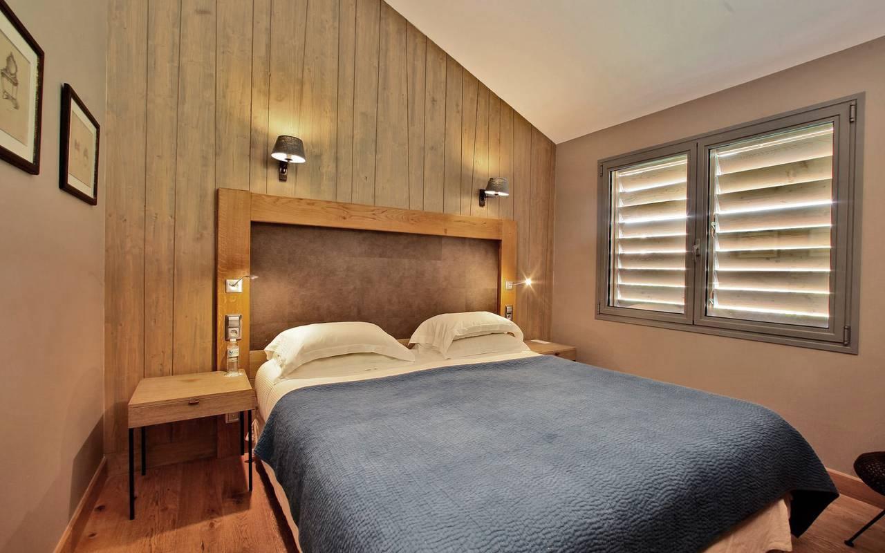 bedroom lodge hotel les glycines & spa