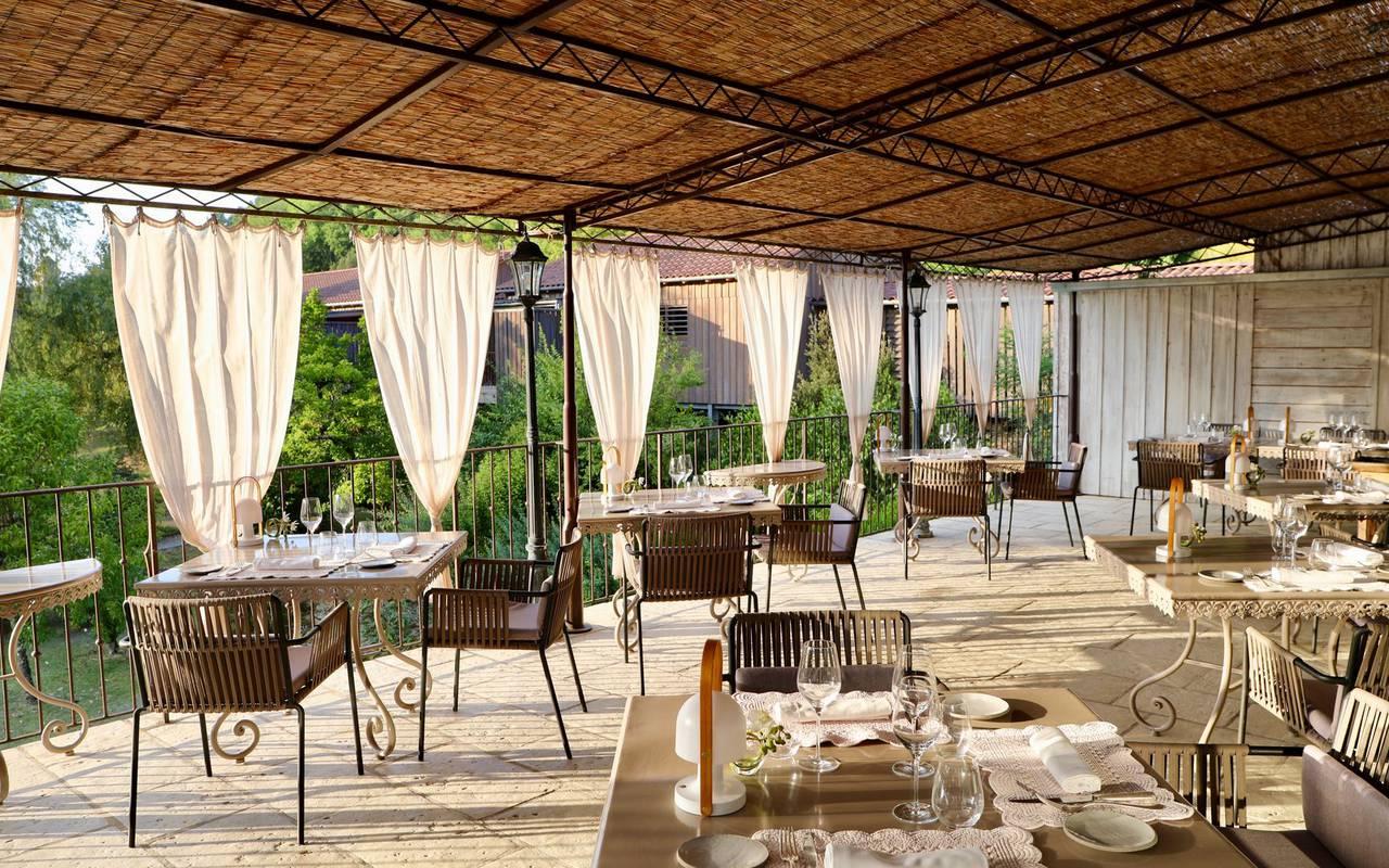 terrace restaurant lascaux