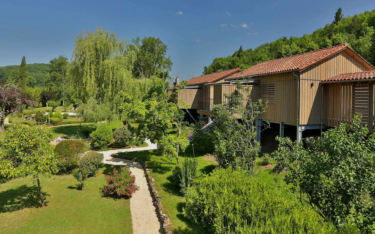 hotel in nature restaurant dordogne
