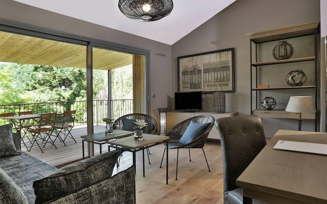 Design lounge hotel restaurant dordogne