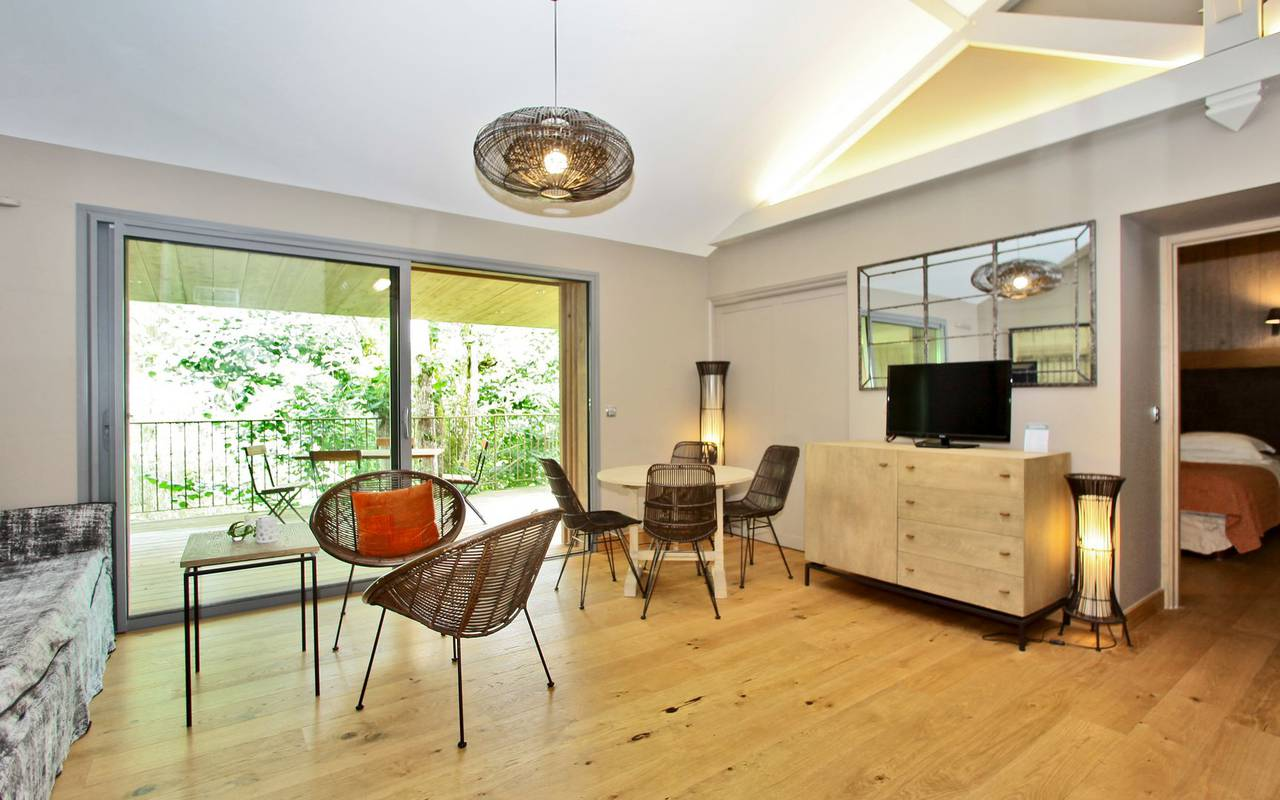 elegant living room hotel saint cirq