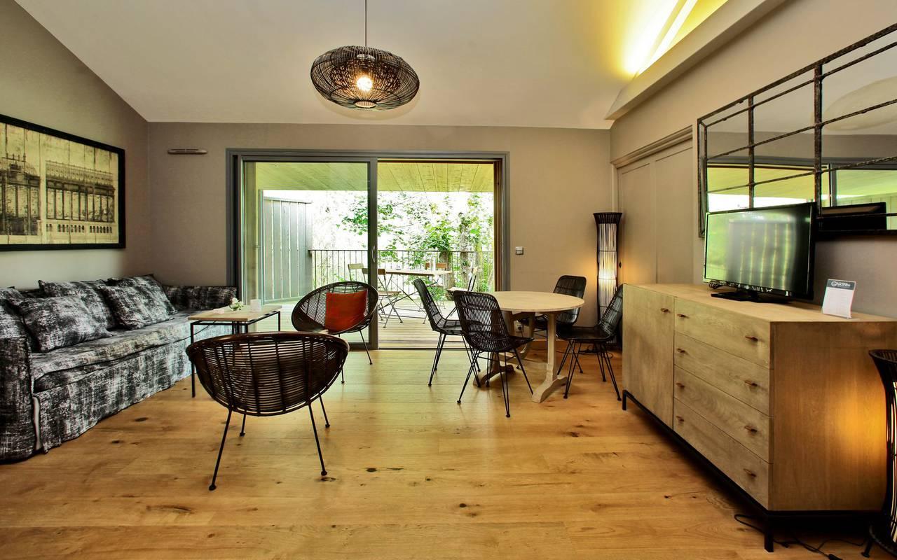 modern living space hotel tursac