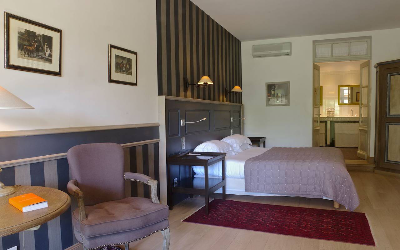 chambre spacieuse boutique hotel Dordogne