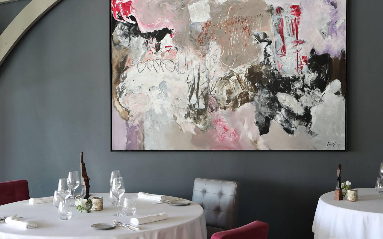 salon restaurant michelin sarlat