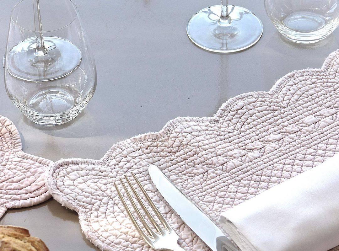 table dressée restaurant montignac