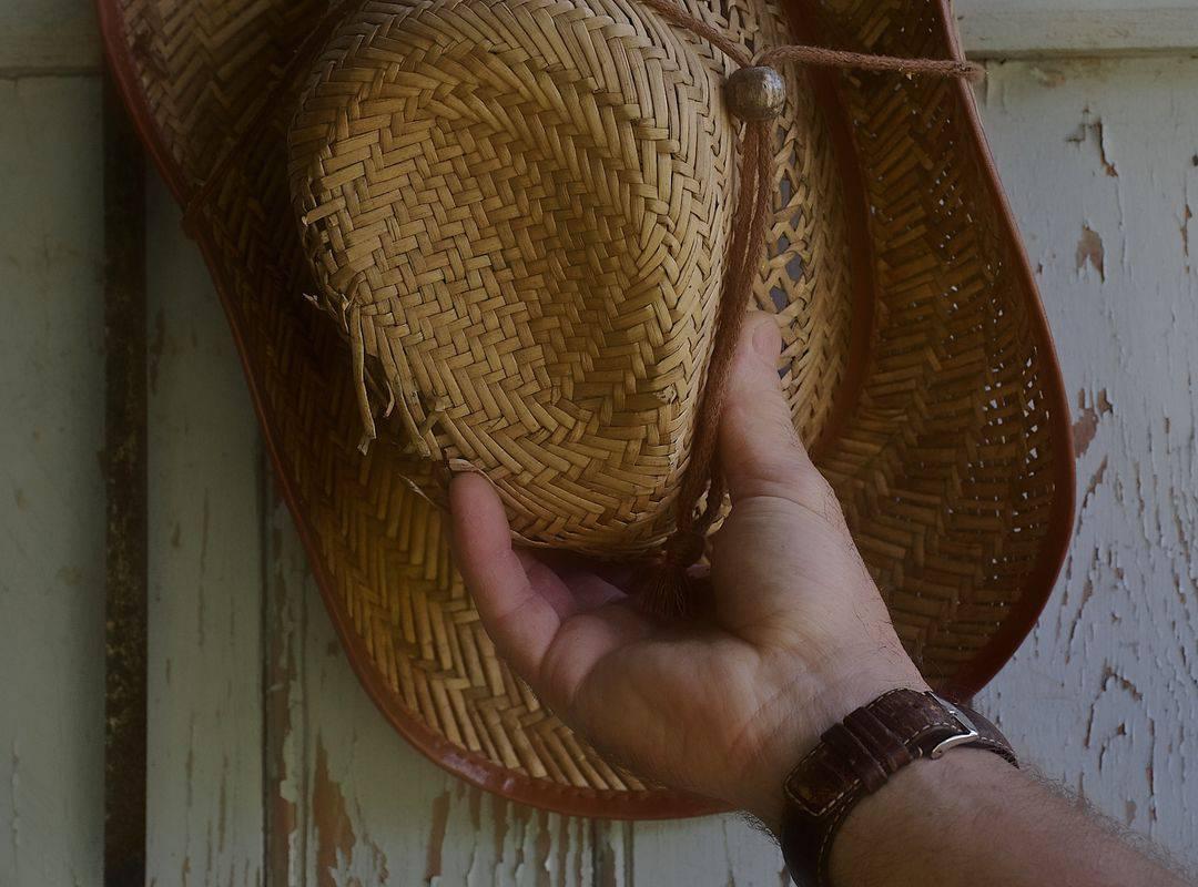 chapeau de paille bistrot sarlat