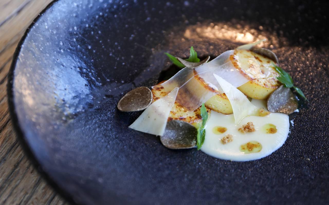 plat de gnocchis dans hôtel restaurant Sarlat