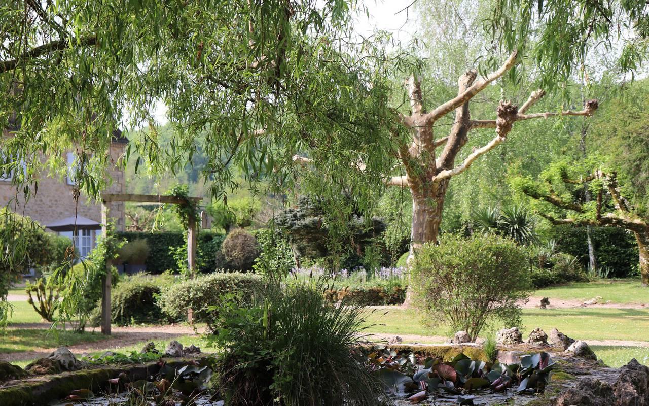 jardin hotel de charme dordogne