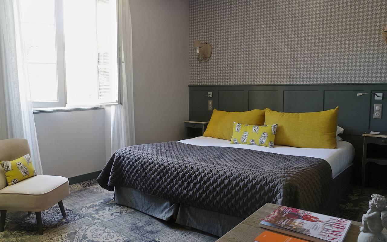 chambre design hotel tursac